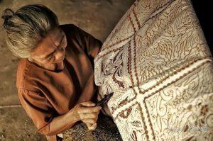 batik escrito o pintado